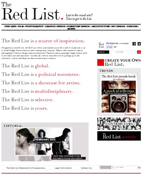 Site The Red List 1