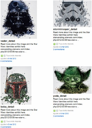 Concours star wars identities
